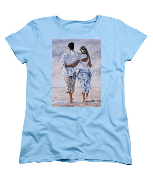Memories Of Love Women's T-Shirt (Standard Cut) by Emerico Imre Toth