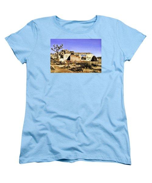 Women's T-Shirt (Standard Cut) featuring the painting Memory by Muhie Kanawati