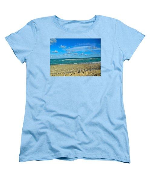 Miami Beach Women's T-Shirt (Standard Cut)