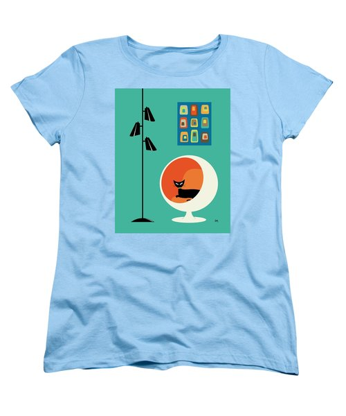 Mid Century Mini Oblongs Women's T-Shirt (Standard Cut)