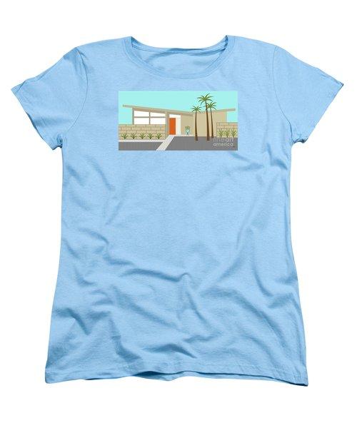 Mid Century Modern House 1 Women's T-Shirt (Standard Cut)