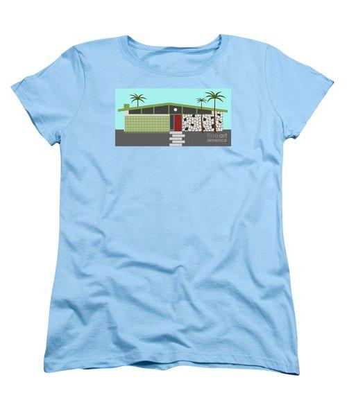 Mid Century Modern House 4 Women's T-Shirt (Standard Cut)