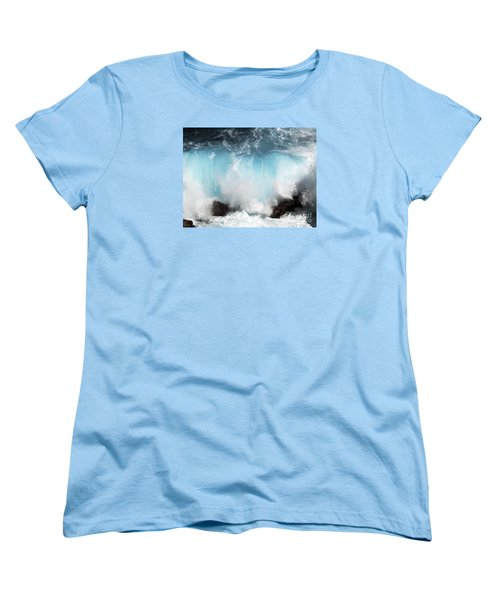 Might And Power Women's T-Shirt (Standard Cut) by Patricia Griffin Brett