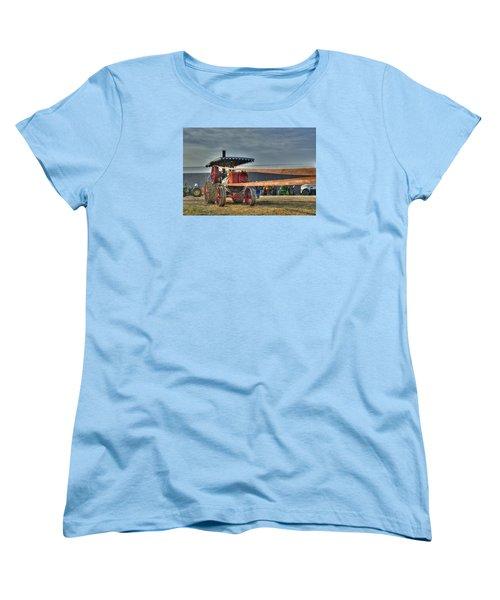 Minneapolis Return Flue Threshing Women's T-Shirt (Standard Cut) by Shelly Gunderson