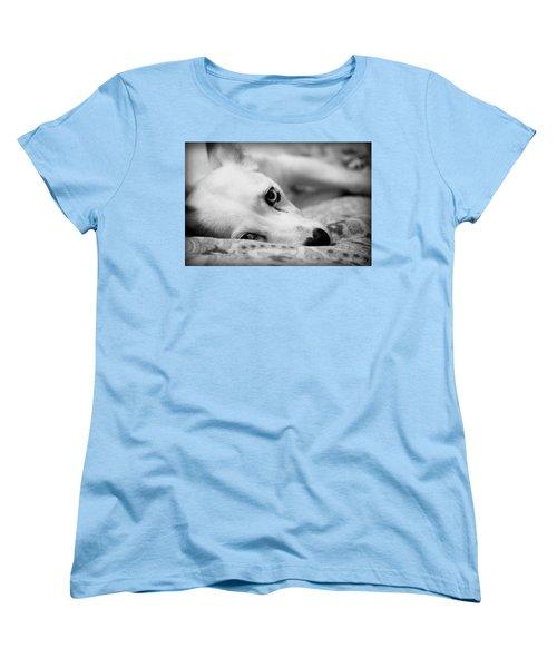 Women's T-Shirt (Standard Cut) featuring the photograph Miss Donut  by Faith Williams