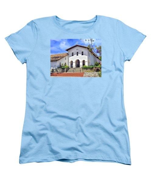 Mission San Luis Obispo De Tolosa Women's T-Shirt (Standard Cut) by Dominic Piperata