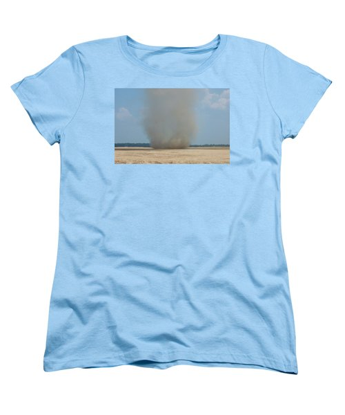 Mississippi Dust Devil Women's T-Shirt (Standard Cut) by Fortunate Findings Shirley Dickerson
