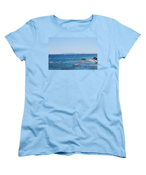 Women's T-Shirt (Standard Cut) featuring the photograph Mistral.force 6 by George Katechis