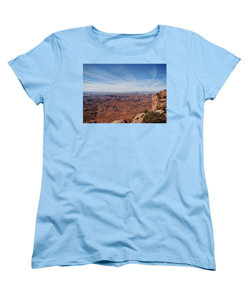 Moab  Women's T-Shirt (Standard Cut) by Cathy Anderson