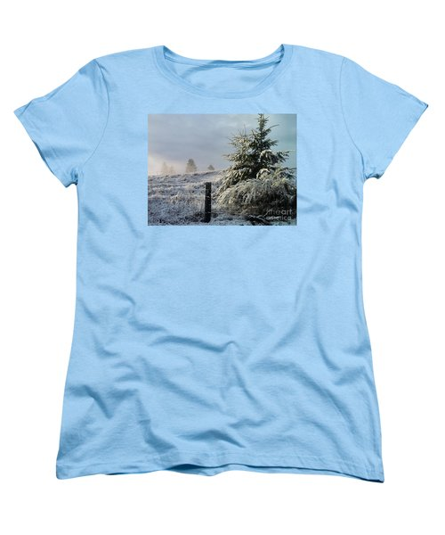 Women's T-Shirt (Standard Cut) featuring the photograph Moment Of Peace by Rory Sagner