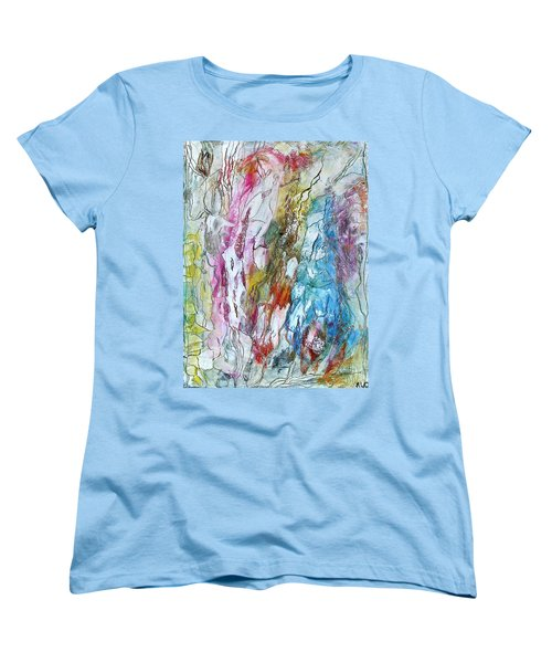Monet's Garden Women's T-Shirt (Standard Cut)