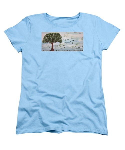 The Money Tree Women's T-Shirt (Standard Cut) by Jeffrey Koss