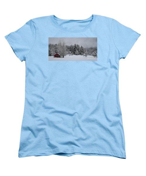 Montana Morning Women's T-Shirt (Standard Cut)