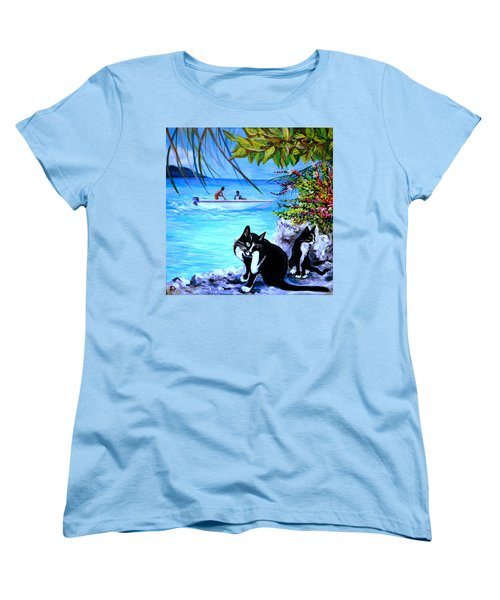 Montego Bay. Part One Women's T-Shirt (Standard Cut) by Anna  Duyunova