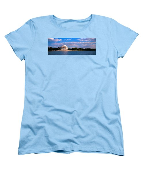 Monument On The Waterfront, Jefferson Women's T-Shirt (Standard Cut) by Panoramic Images