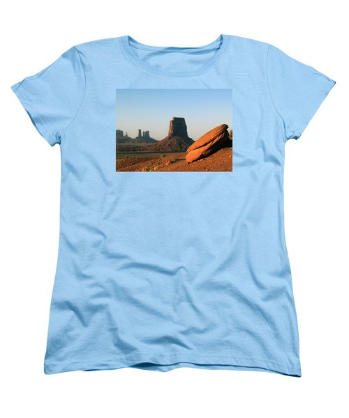 Monument Valley Afternoon Women's T-Shirt (Standard Cut) by Jeff Brunton