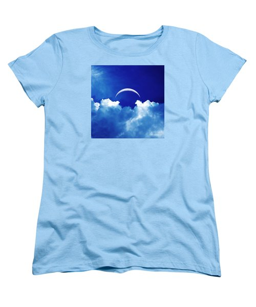 Moon Cloud Women's T-Shirt (Standard Cut) by Joseph J Stevens