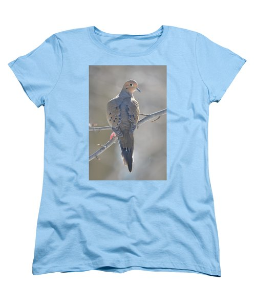 Mourning Dove Women's T-Shirt (Standard Cut) by Richard Bryce and Family