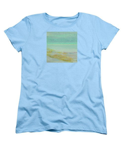 Morning Low Tide Women's T-Shirt (Standard Cut) by Gail Kent