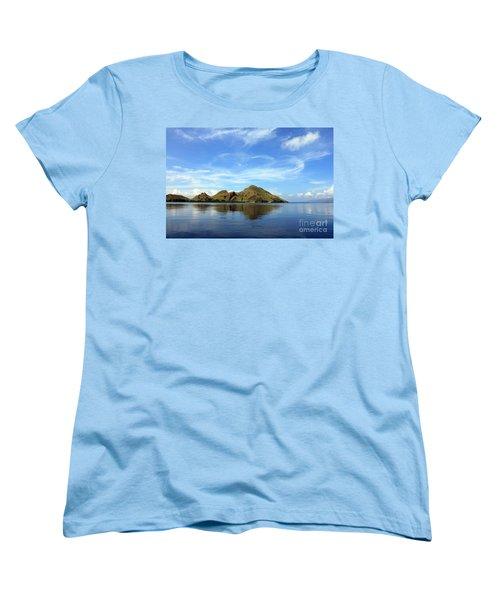 Morning On Komodo Women's T-Shirt (Standard Cut) by Sergey Lukashin