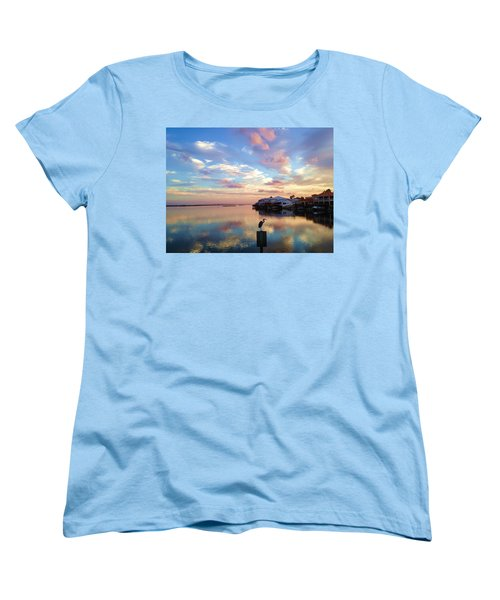 Morning Reflections Women's T-Shirt (Standard Cut) by Debra Martz