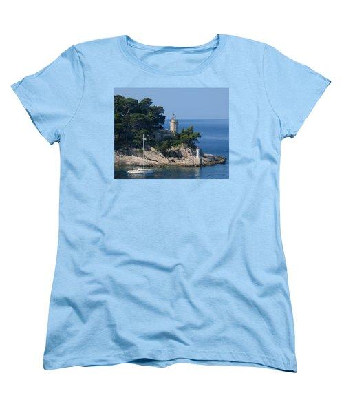 Morning Sail Women's T-Shirt (Standard Cut) by Jennifer Wheatley Wolf