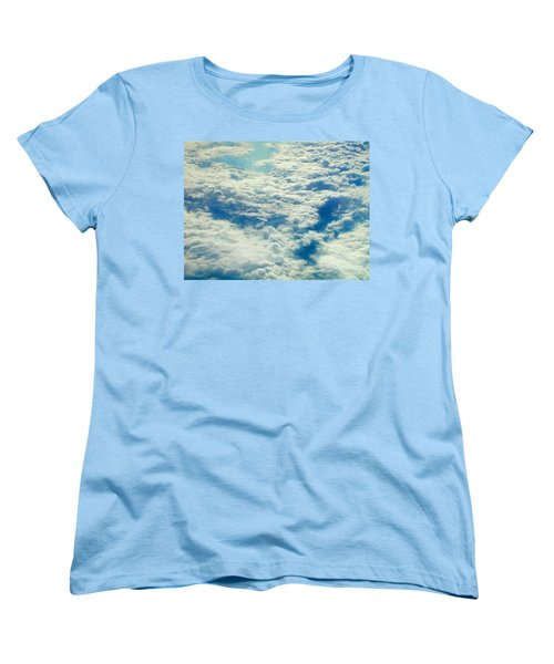 Women's T-Shirt (Standard Cut) featuring the photograph Mostly Cloudy by Mark Greenberg