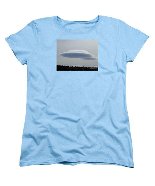 Women's T-Shirt (Standard Cut) featuring the photograph Mother Ship by Fiona Kennard