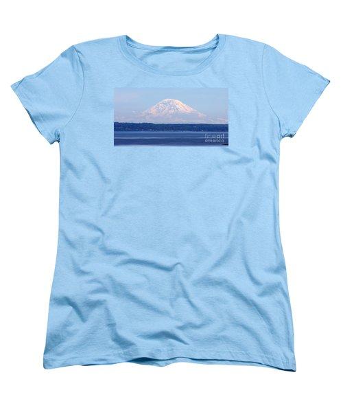 Mount Rainier Women's T-Shirt (Standard Cut)