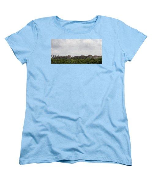 Mountain Villa Women's T-Shirt (Standard Cut) by Mustafa Abdullah