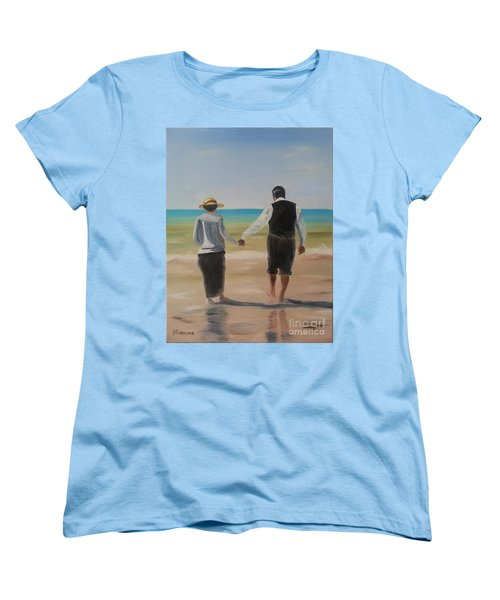 Mr. Carson And Mrs. Hughes Women's T-Shirt (Standard Cut) by Bev Conover
