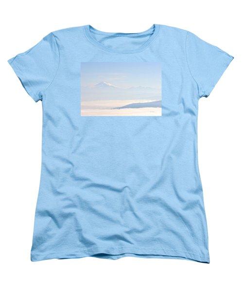 Mt. Baker From San Juan Islands Women's T-Shirt (Standard Cut)