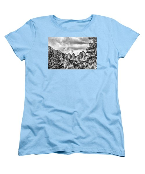 Mt. Whitney Women's T-Shirt (Standard Cut) by Peggy Hughes