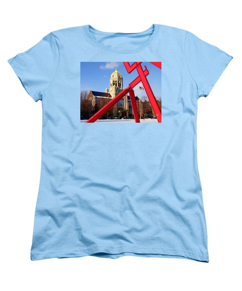 Abstract - Haas And Victors Lament Women's T-Shirt (Standard Cut) by Jacqueline M Lewis
