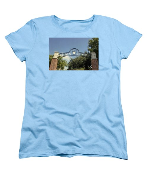 Munn Park Women's T-Shirt (Standard Cut) by Laurie Perry