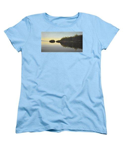 Muskoka Solitude Women's T-Shirt (Standard Cut) by Kenneth M  Kirsch