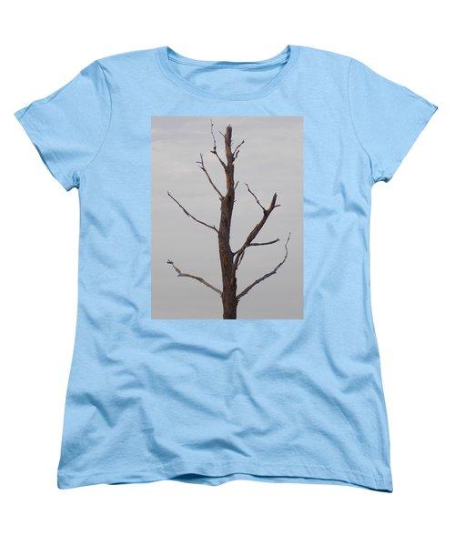 Women's T-Shirt (Standard Cut) featuring the photograph Alzheimer's  Please Read Description by John Glass