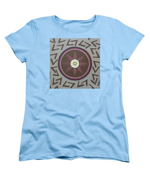 Women's T-Shirt (Standard Cut) featuring the painting My Yantra by Mini Arora
