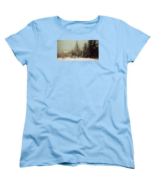 Mystic Woods Women's T-Shirt (Standard Cut) by Vittorio Chiampan