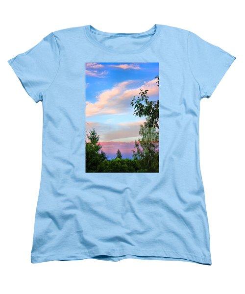 Natures Palette Women's T-Shirt (Standard Cut) by Kristin Elmquist