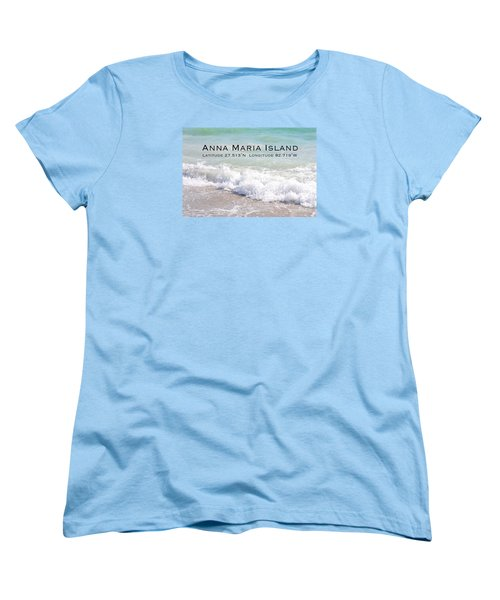 Nautical Escape To Anna Maria Island Women's T-Shirt (Standard Cut) by Margie Amberge