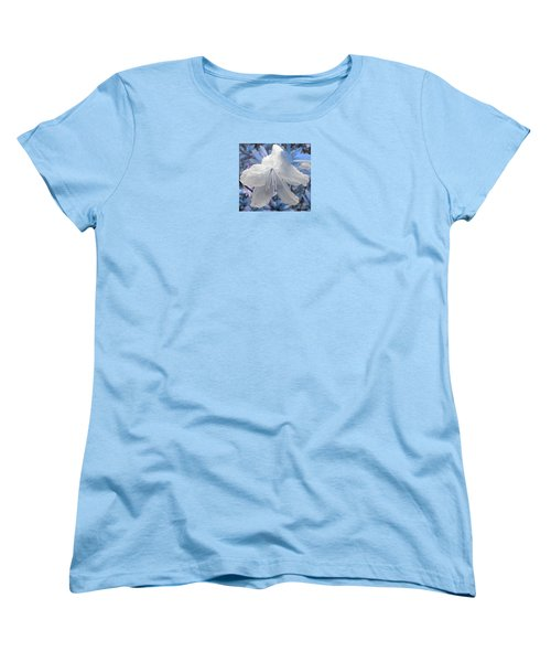 Women's T-Shirt (Standard Cut) featuring the photograph New Dew by Janice Westerberg