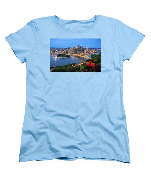 Pittsburgh Summer  Women's T-Shirt (Standard Cut) by Emmanuel Panagiotakis