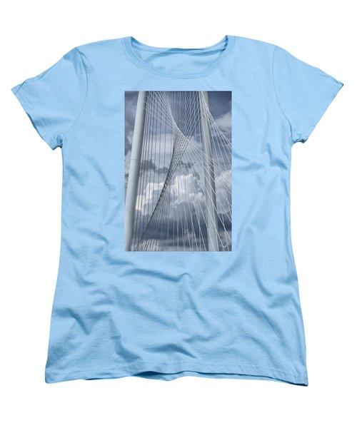 New Skyline Bridge Women's T-Shirt (Standard Cut) by Joan Carroll