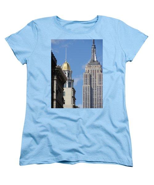 Women's T-Shirt (Standard Cut) featuring the photograph New York New York by Ira Shander
