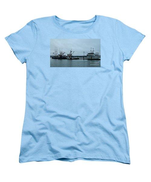 Newport Fishing Boats Women's T-Shirt (Standard Cut)