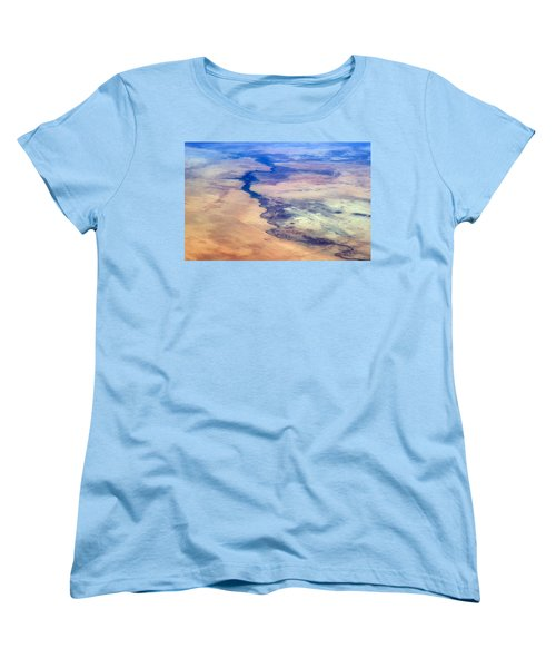 Women's T-Shirt (Standard Cut) featuring the photograph Nile River From The Iss by Science Source