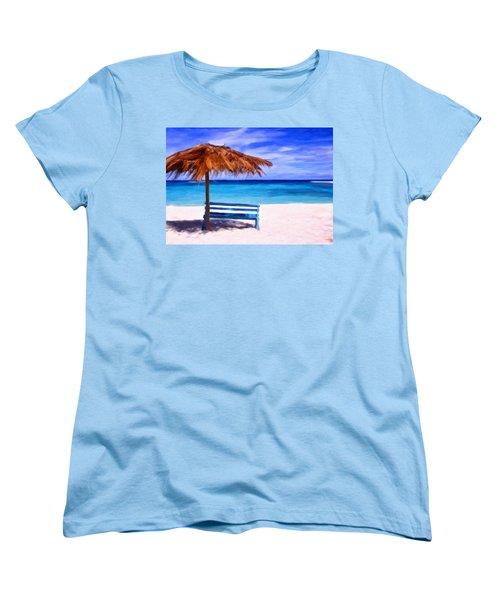 No Coronas Women's T-Shirt (Standard Cut) by Michael Pickett