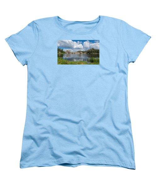 Sylvan Lake South Dakota Women's T-Shirt (Standard Cut) by Patti Deters