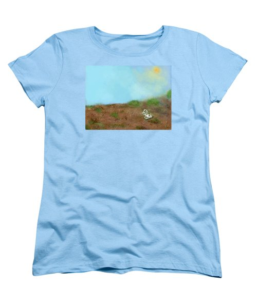 No Man's Land Women's T-Shirt (Standard Cut) by Renee Michelle Wenker